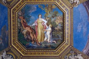Ceiling in the Vatican Museums