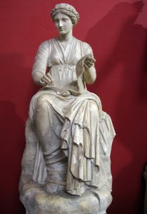 Statue of a muse - Vatican Museums
