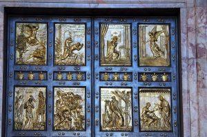 The Holy Door - Saint Peter Basilica