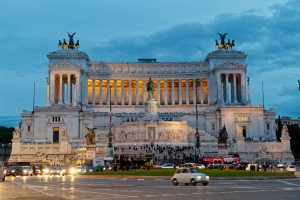 Piazza Venezia with the Vittorio Emanuele memorial